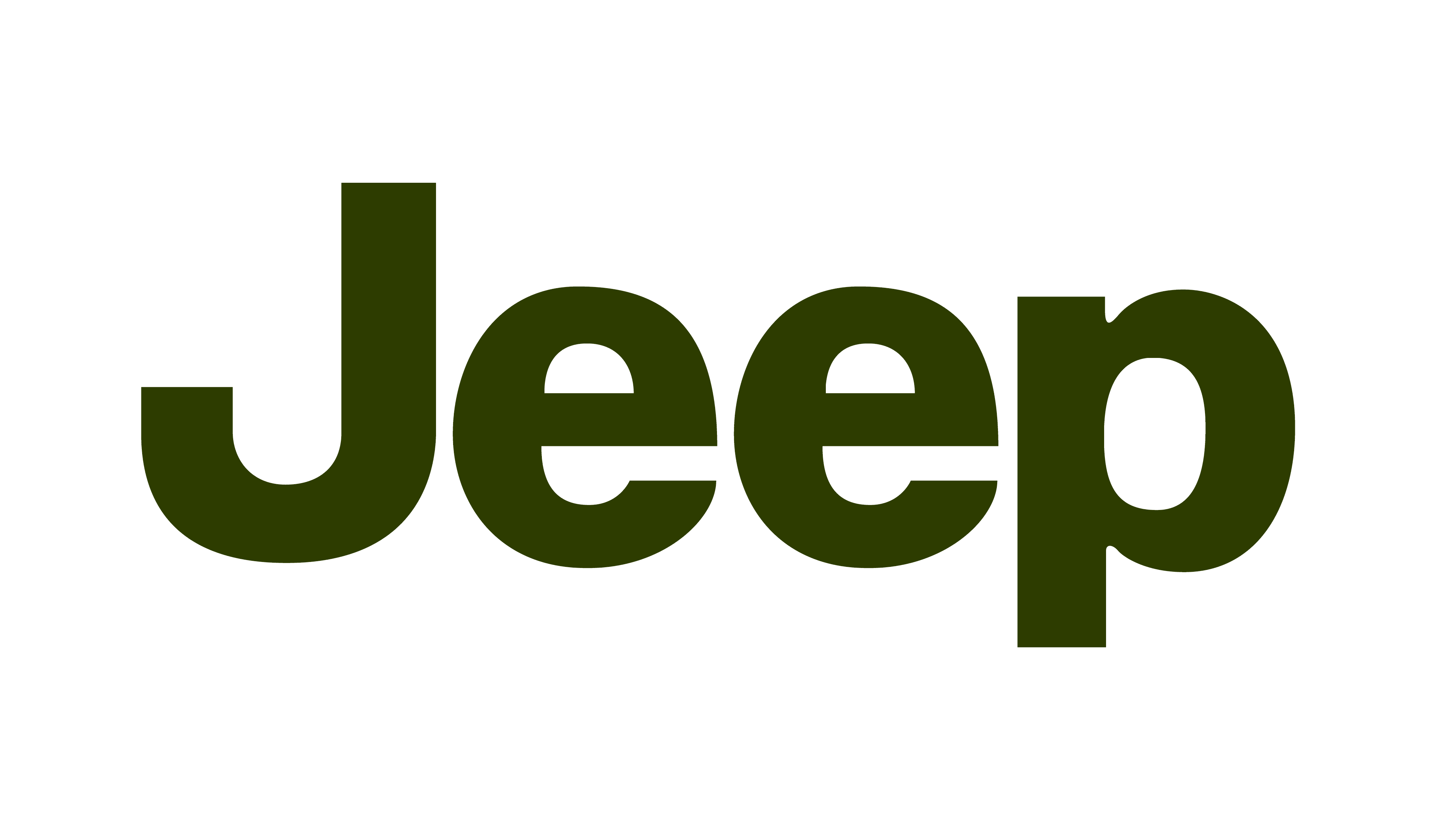 Jeep Logo Green 3840X2160